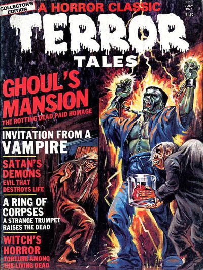 Cover for Terror Tales (Eerie Publications, 1969 series) #v8#2