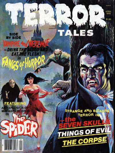 Cover for Terror Tales (Eerie Publications, 1969 series) #v9#2
