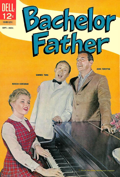 Cover for Bachelor Father (Dell, 1962 series) #2