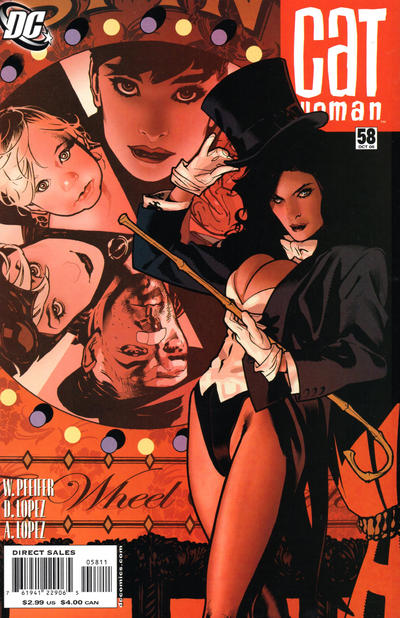 Cover for Catwoman (DC, 2002 series) #58