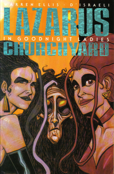 Cover for Lazarus Churchyard (Tundra UK, 1992 series) #2