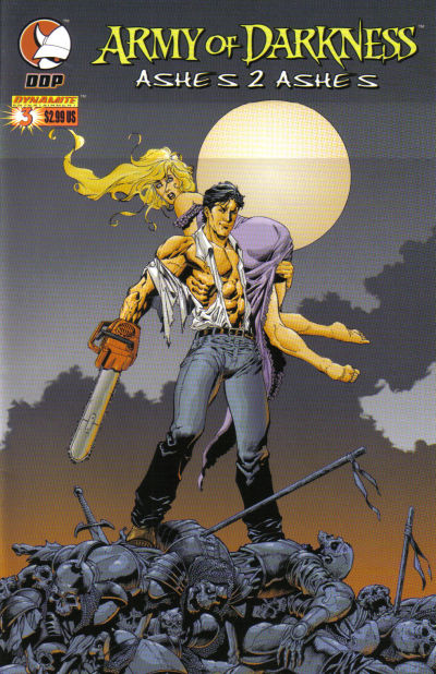 Cover for Army of Darkness: Ashes 2 Ashes (Devil's Due Publishing, 2004 series) #3 [Cover B - Michael Avon Oeming]