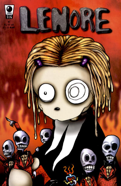 Cover for Lenore (Slave Labor, 1998 series) #1