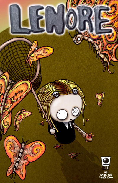 Cover for Lenore (Slave Labor, 1998 series) #3