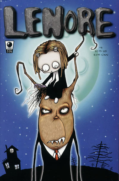 Cover for Lenore (Slave Labor, 1998 series) #4