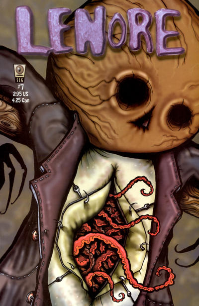 Cover for Lenore (Slave Labor, 1998 series) #7