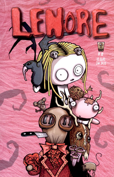 Cover for Lenore (Slave Labor, 1998 series) #8