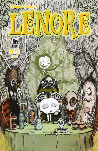 Cover for Lenore (Slave Labor, 1998 series) #12