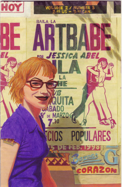 Cover for Artbabe (Fantagraphics, 1997 series) #3