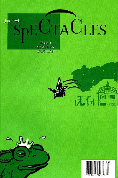 Cover for Spectacles (Alternative Press, 1997 series) #3