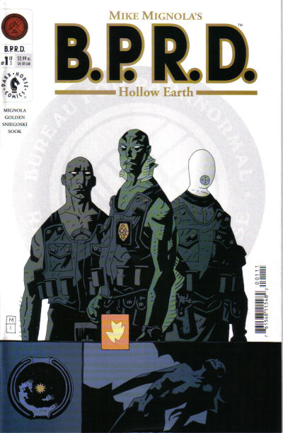 Cover for BPRD: Hollow Earth [B.P.R.D.: Hollow Earth] (Dark Horse, 2002 series) #1