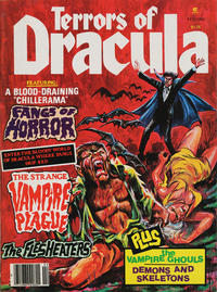 Cover Thumbnail for Terrors of Dracula (Eerie Publications, 1979 series) #v2#1