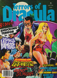 Cover for Terrors of Dracula (Eerie Publications, 1979 series) #v3#2