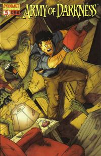Cover Thumbnail for Army of Darkness (Dynamite Entertainment, 2005 series) #5 [Cover B]