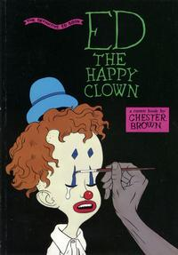 Cover Thumbnail for Ed the Happy Clown: The Definitive Ed Book (Vortex, 1992 series)