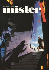 Cover Thumbnail for The Return of Mister X (Vortex, 1986 series) #[nn]