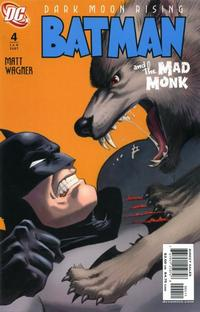 Cover Thumbnail for Batman: The Mad Monk (DC, 2006 series) #4