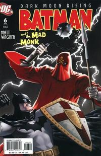 Cover Thumbnail for Batman: The Mad Monk (DC, 2006 series) #6