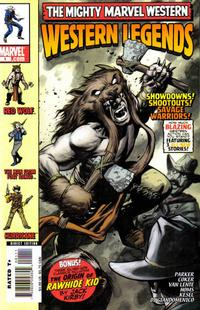 Cover Thumbnail for Marvel Westerns: Western Legends (Marvel, 2006 series) #1