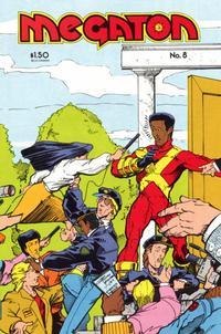 Cover Thumbnail for Megaton (Megaton Comics, 1983 series) #8