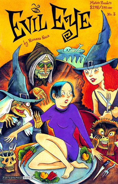 Cover for Evil Eye (Fantagraphics, 1998 series) #3