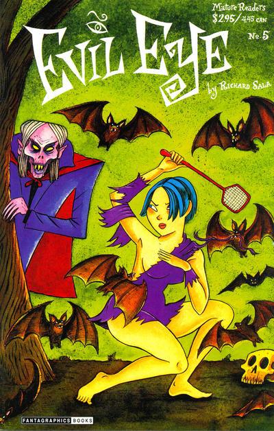 Cover for Evil Eye (Fantagraphics, 1998 series) #5