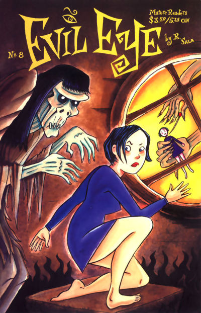 Cover for Evil Eye (Fantagraphics, 1998 series) #8