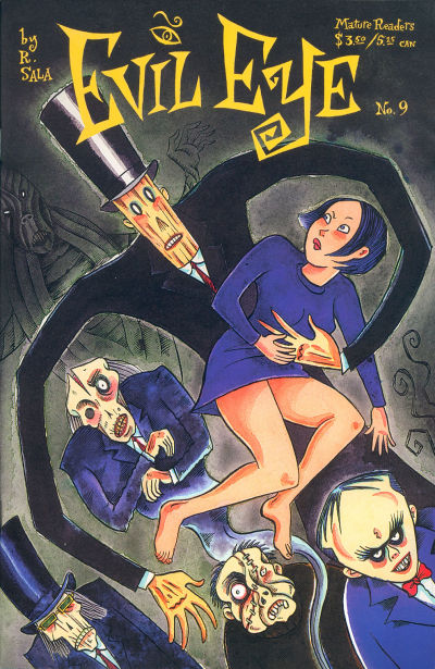 Cover for Evil Eye (Fantagraphics, 1998 series) #9