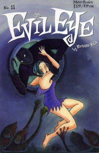 Cover for Evil Eye (Fantagraphics, 1998 series) #11