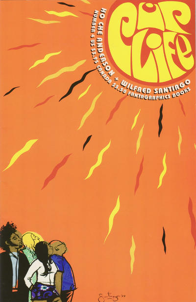 Cover for Pop Life (Fantagraphics, 1998 series) #4