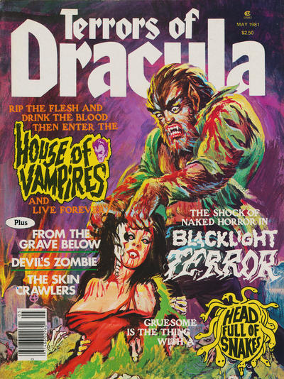 Cover for Terrors of Dracula (Eerie Publications, 1979 series) #v3#1