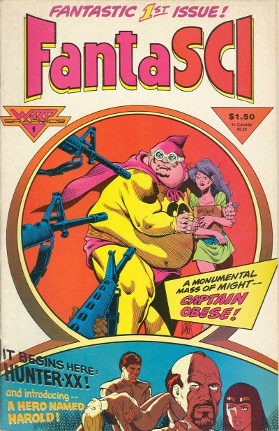 Cover for Fantasci (WaRP Graphics, 1986 series) #1