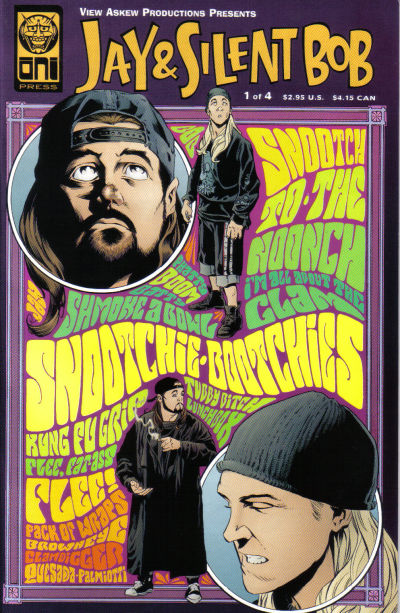 Cover for Jay & Silent Bob (Oni Press, 1998 series) #1 [Second Printing]