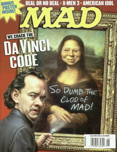 Cover for MAD (EC, 1952 series) #466