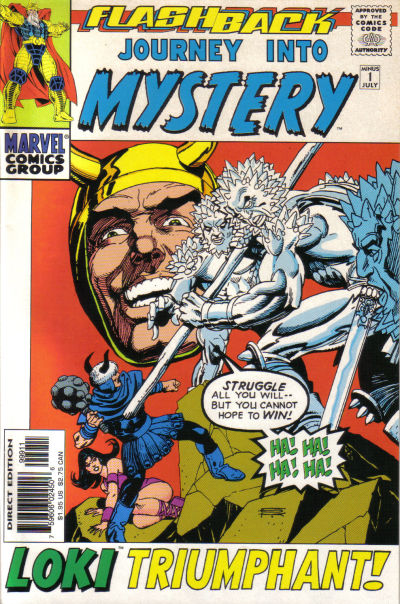 Cover for Journey into Mystery (Marvel, 1996 series) #-1