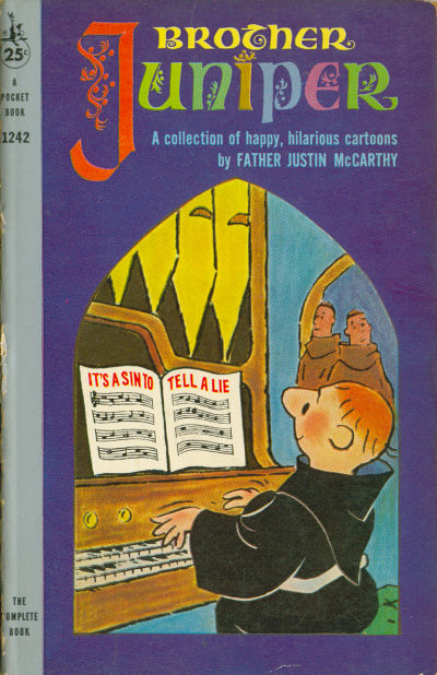 Cover for Brother Juniper (Pocket Books, 1959 series) #1242