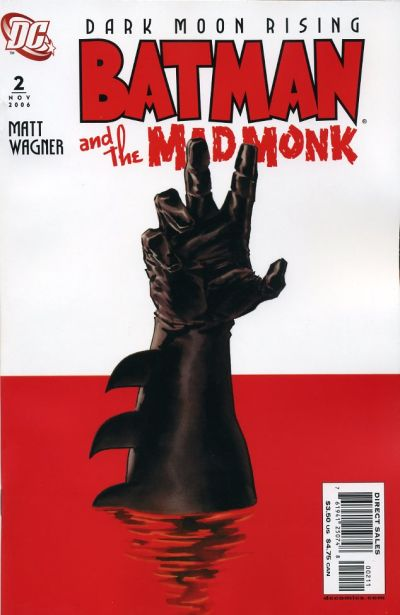 Cover for Batman: The Mad Monk (DC, 2006 series) #2