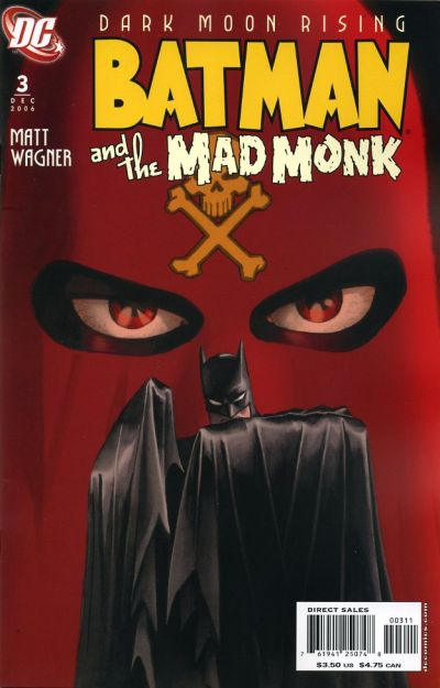 Cover for Batman: The Mad Monk (DC, 2006 series) #3