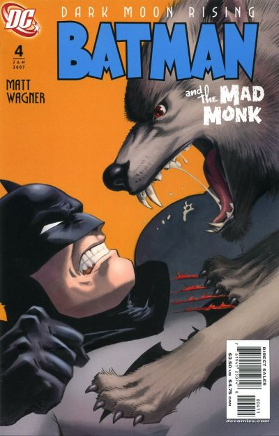 Cover for Batman: The Mad Monk (DC, 2006 series) #4
