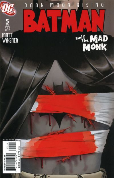 Cover for Batman: The Mad Monk (DC, 2006 series) #5