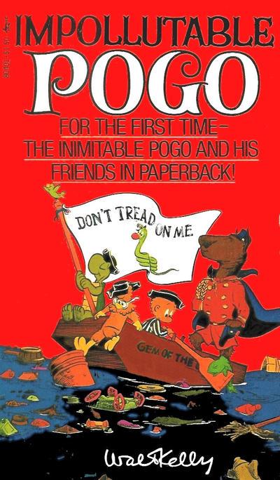 Cover for Impollutable Pogo (Pocket Books, 1976 series) #80401