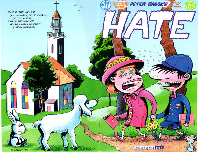 Cover for Hate (Fantagraphics, 1990 series) #11