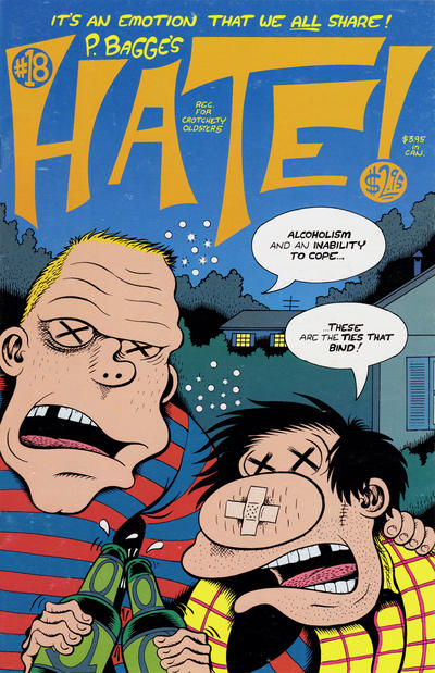 Cover for Hate (Fantagraphics, 1990 series) #18