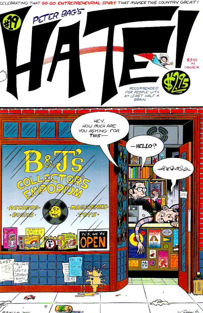 Cover for Hate (Fantagraphics, 1990 series) #19