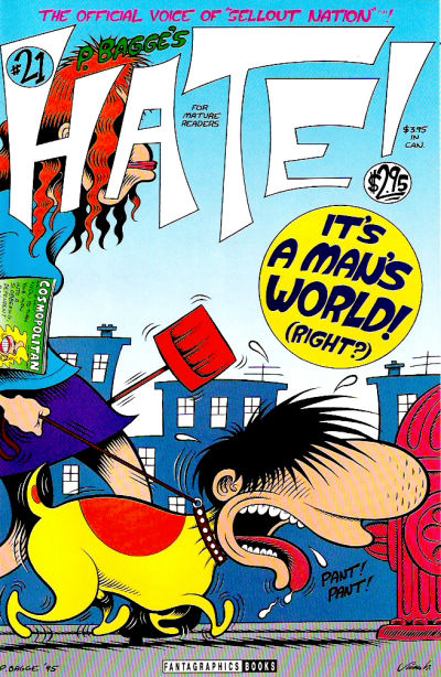 Cover for Hate (Fantagraphics, 1990 series) #21