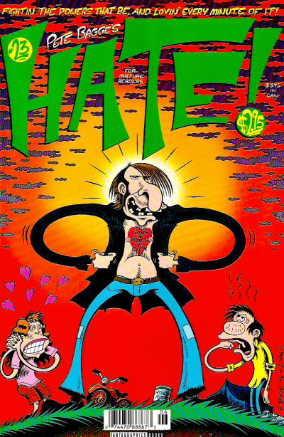Cover for Hate (Fantagraphics, 1990 series) #23