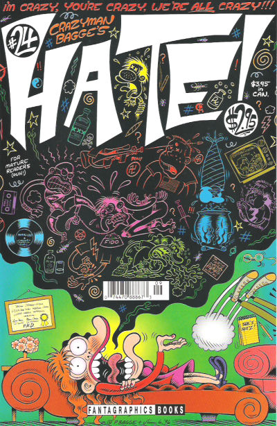 Cover for Hate (Fantagraphics, 1990 series) #24