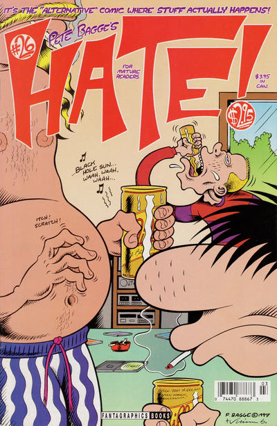 Cover for Hate (Fantagraphics, 1990 series) #26