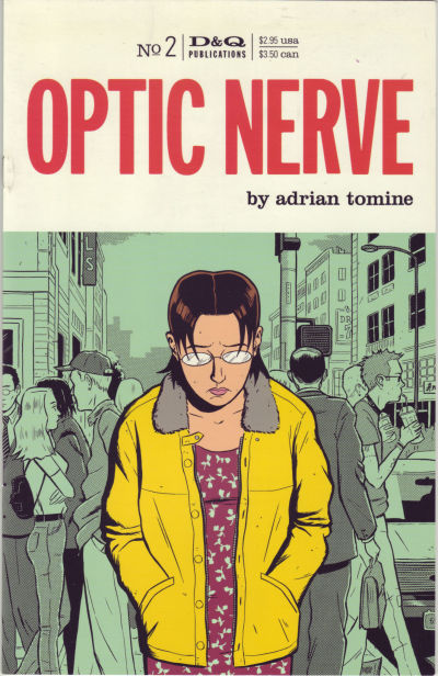 Cover for Optic Nerve (Drawn & Quarterly, 1995 series) #2