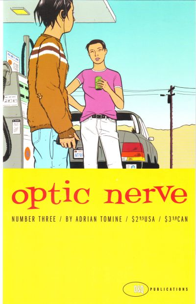 Cover for Optic Nerve (Drawn & Quarterly, 1995 series) #3